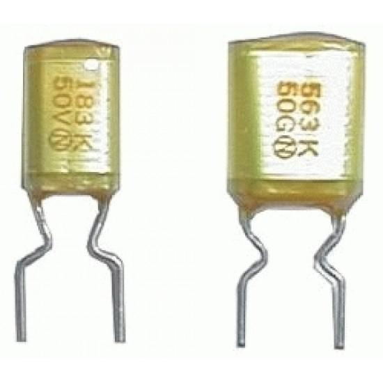 Kondenzátor zvitkový 22N 50V AMZV rm5 C DOPREDAJ