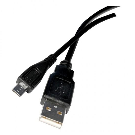 Kábel USB 2.0 A micro USB kábel 1m