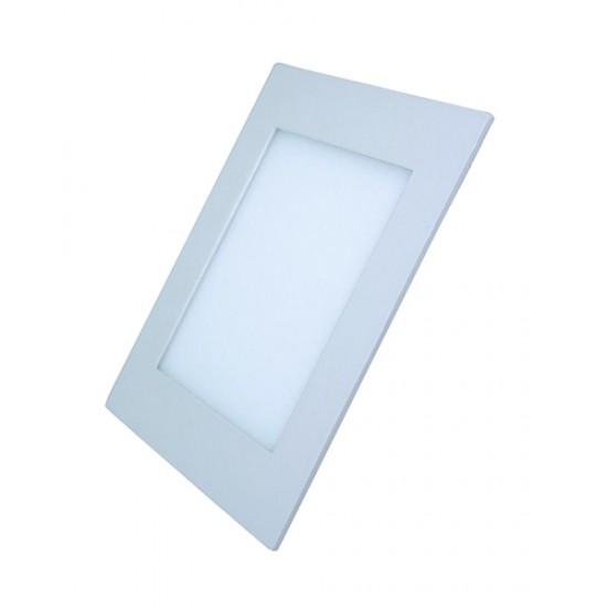 LED mini panel podhľadový 6W, 400lm, 4000K, tenký, štvorcový, biely WD104 Solight