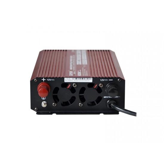Menič napätia 12V/230V 600W CZ UPS + nabíjačka CARSPA UPS600