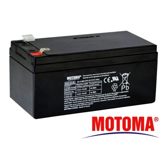 Batéria olovená 12V/ 3,2 Ah MOTOMA bezúdržbový akumulátor