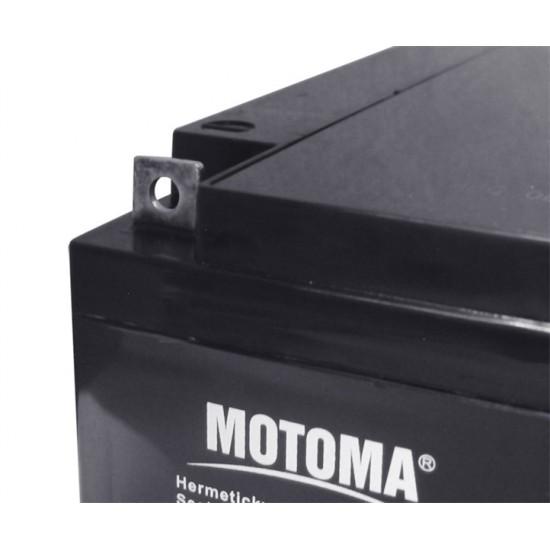 Batéria olovená 12V/28Ah MOTOMA bezúdržbový akumulátor