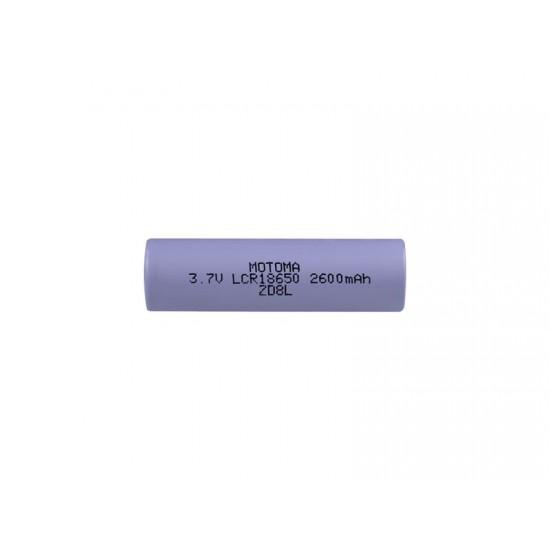 Batéria nabíjacia Li-Ion LCR18650 3,7V/2600mAh MOTOMA