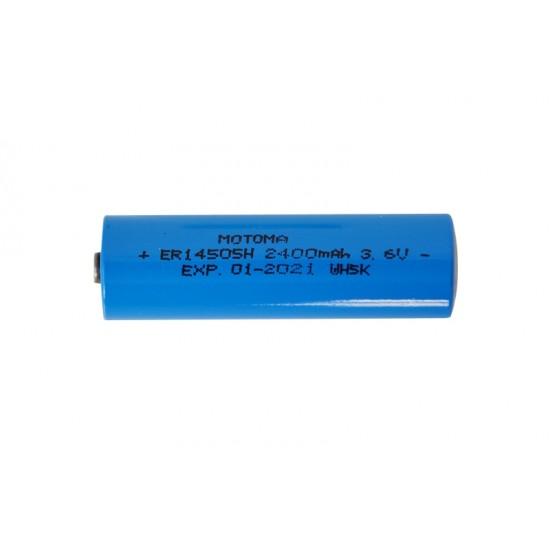 Batéria 14500/14505 líthiová 3.6V, 2400mAh MOTOMA