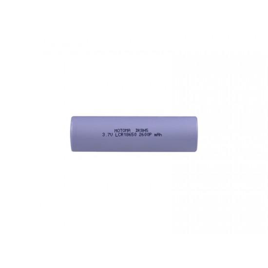 Batéria nabíjacia Li-Ion 18650 3,7V 2600mAh 5C MOTOMA