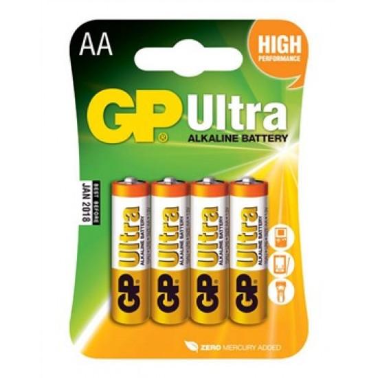 Batéria AA (R6) alkalická GP Ultra Alkaline