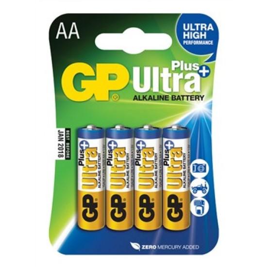 Batéria AA (R6) alkalická GP Ultra Plus Alkaline
