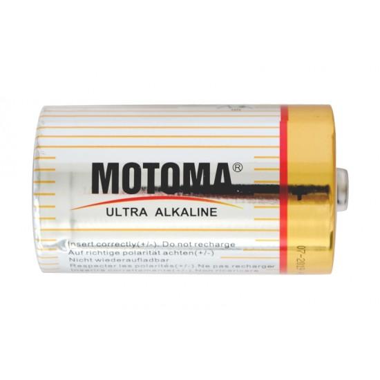 Batéria D (R20) alkalická MOTOMA Ultra Alkaline LR20