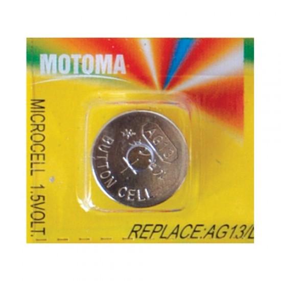 Batéria LR44 (A76) MOTOMA alkalická