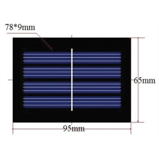 Fotovoltaický solárny článok 2V / 0,4W (panel)