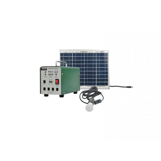 Fotovoltaický prenosný solárny systém MOTOMA 20W (AGM)