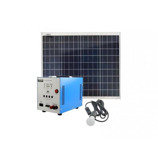 Fotovoltaický prenosný solárny systém MOTOMA 50W (AGM)