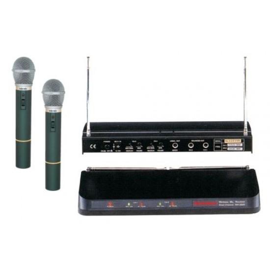 Bezdrôtový mikrofón WR202R+2xVXM286TS