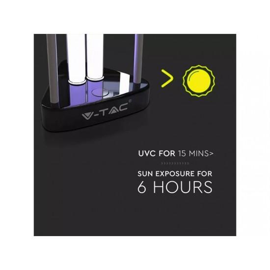 Germicídna lampa s UV a ozónom V-TAC VT-3238