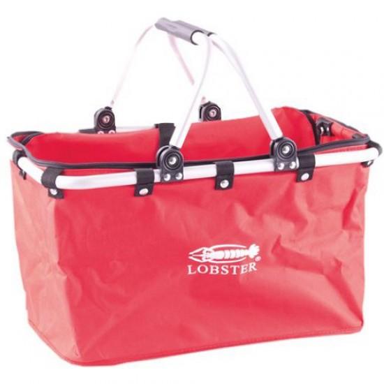 Košík nákupný LOBSTER červený