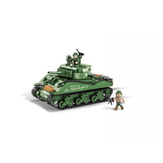 Stavebnica COBI 2550 II WW Sherman M4A3E2 Jumbo, 720 k, 2 f