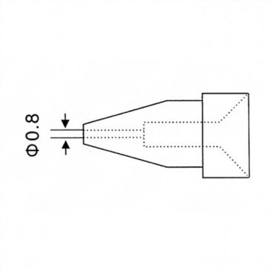 Hrot N5-2/ZD552 priemer 0.8mm (ZD-917)