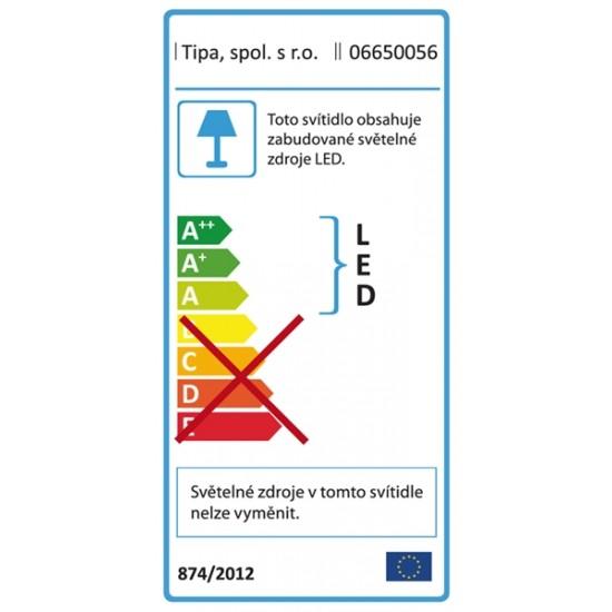 Lupa stolná guľatá (podstavec) 5diop. LED (90x)