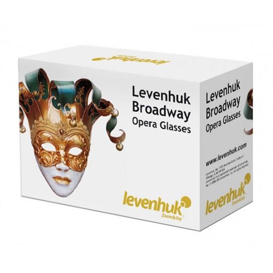 Divadelné kukátko LEVENHUK BROADWAY 325N zlaté, LED svietidlo