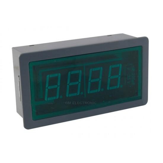 Panelové meradlo 199,9mA WPB5135-DC ampérmeter panelový digitálny