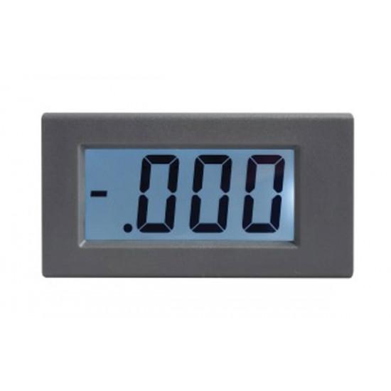 Panelové meradlo 1A WPB5035-DC ampérmeter panelový digitálny