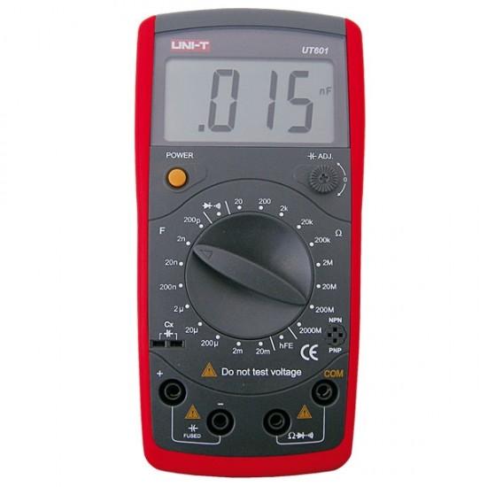 Multimeter UNI-T UT601 (meranie odporov a kapacity)