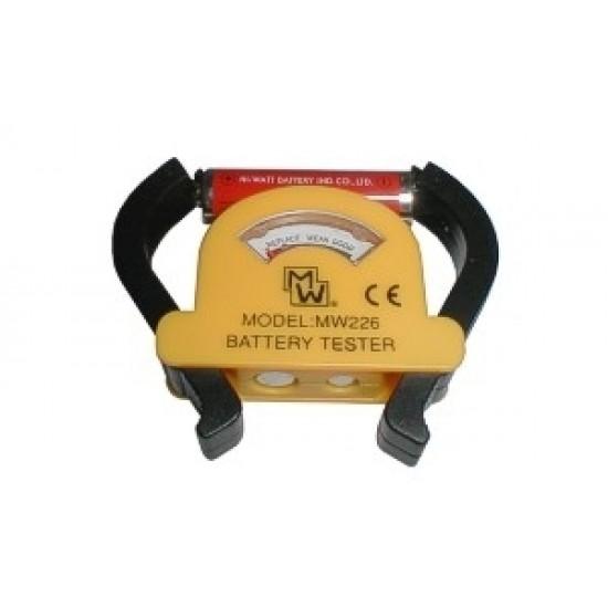 Tester batérií MW226