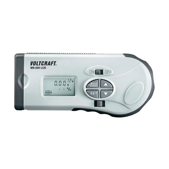 Tester batérií Voltcraft MS-229 LCD