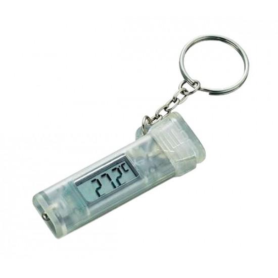 Praktická klúčenka s teplomerom KT-1