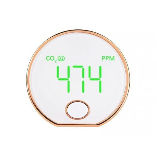 Detektor plynu Hutermann CO2-401 oxidu uhličitého, Merač vydýchanosti vzduchu