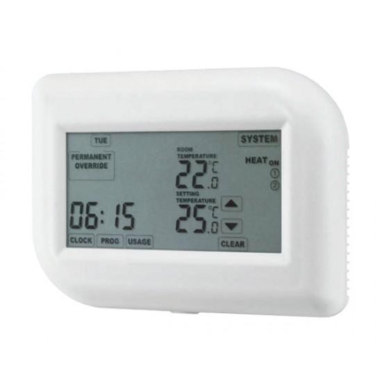 Termostat týždenný TE012T dotykový displej