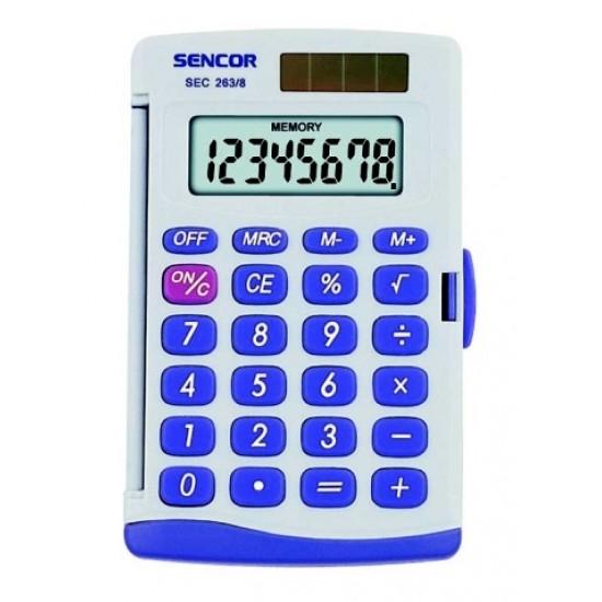 Kalkulátor vreckový SENCOR SEC 263 8 DUAL