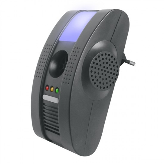 Odpudzovač škodcov s ionizátorom + nočné svetlo