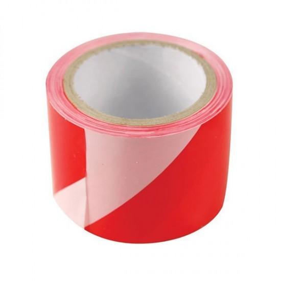 Páska výstražná, 75mmx100m, PE, červeno-biela EXTOL CRAFT