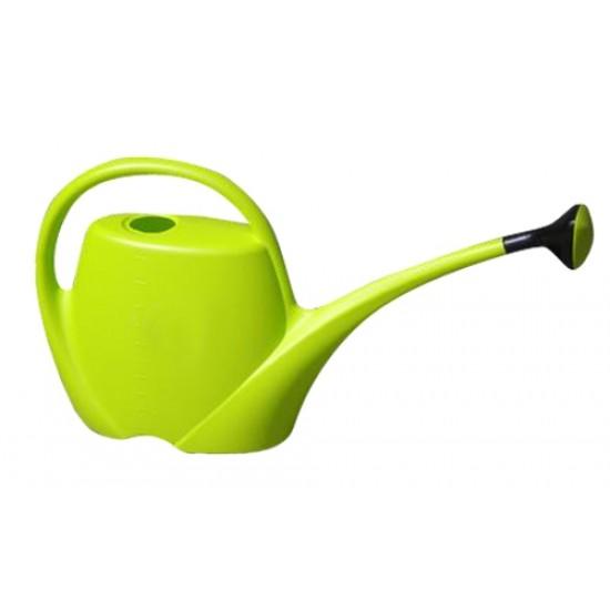 Zalievacia kanva SPRING 4,5 litra, zelená