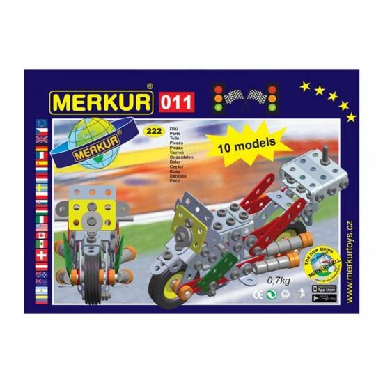 Stavebnica MERKUR 011 MOTOCYKEL