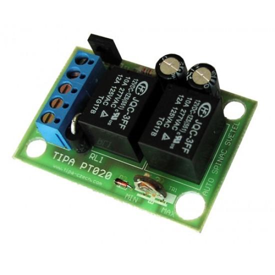 Modul PT020 +12V Automatické rozsvecovanie svetiel automobilu