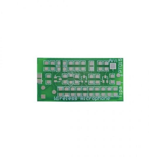 Plošný spoj PT015 Bezdrôtový mikrofón miniatúrny SMD