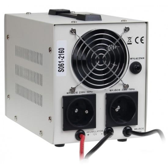 Menič napätia sinus PRO-500E 12V/230V 300/500W