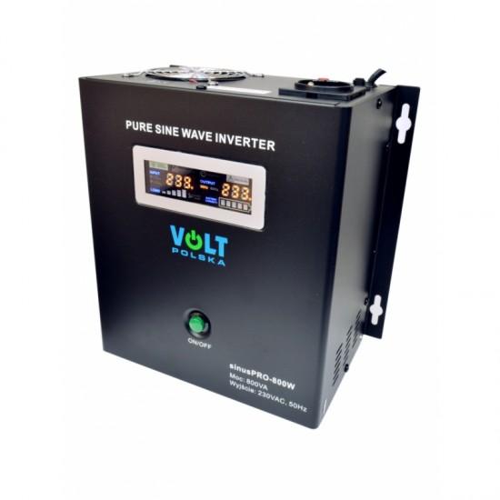 Záložny zdroj UPS SINUS PRO W 500/800 - 12V